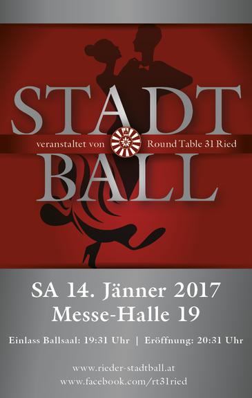 Stadtball 2017 veranstaltet von Round Table 31 Ried